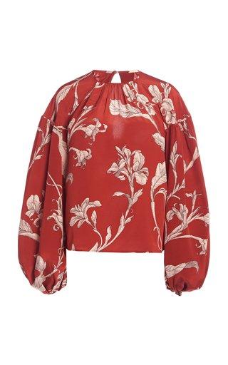 Hecho Por Amor Floral Silk Top