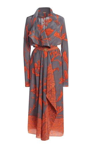 Amores Lejanos Silk Midi Dress