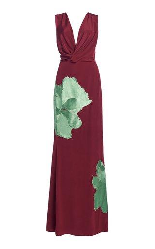 Guardian Solitude Printed Silk Maxi Dress