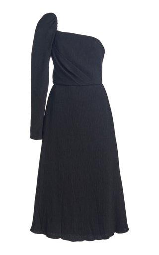 Waking Dream One Shoulder Midi Dress