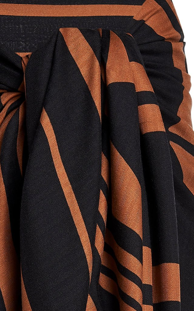 Take My Breath Away Printed Cashmere-Silk Pareo