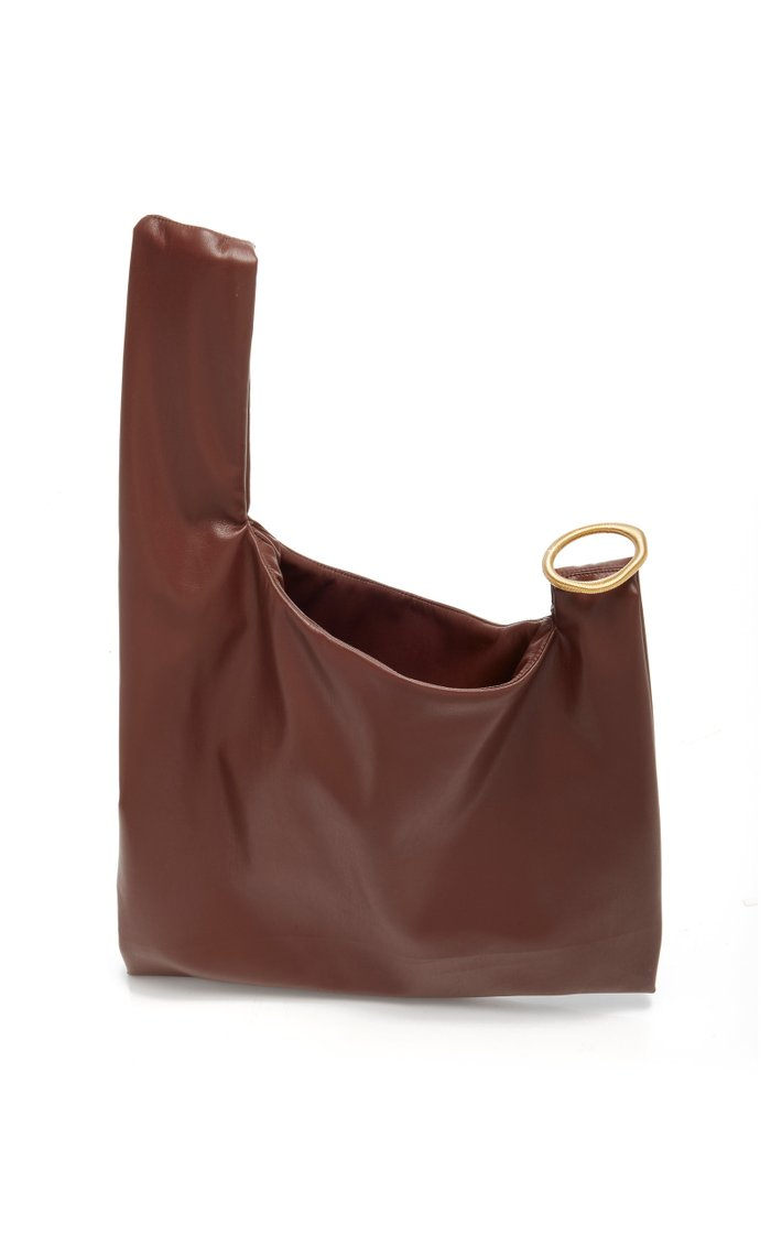 Julia Vegan Leather Top Handle Bag
