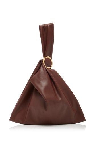 Julia Vegan Leather Top Handle Bag