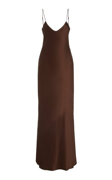Cami Silk Maxi Dress