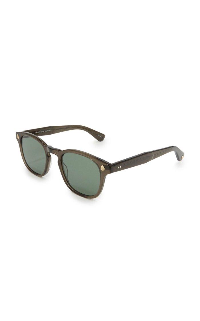 Ace 47 Square-Frame Acetate Sunglasses
