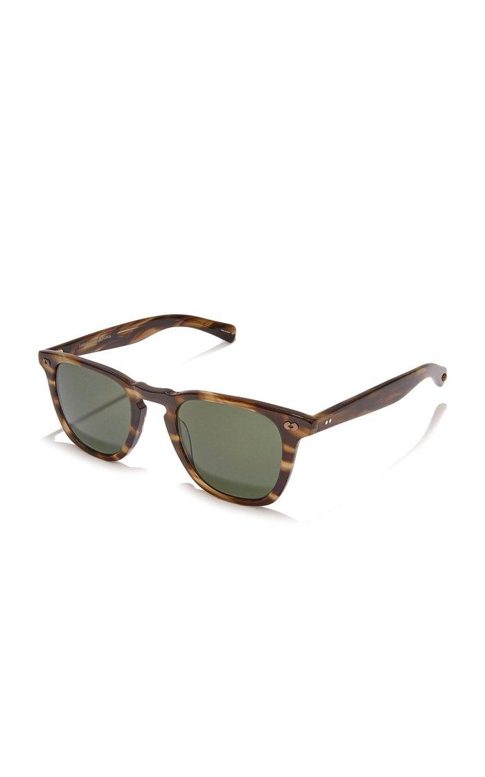 Brooks X 47 D-Frame Tortoiseshell Acetate Sunglasses