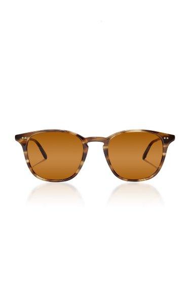 Clark 49 D-Frame Tortoiseshell Acetate Sunglasses
