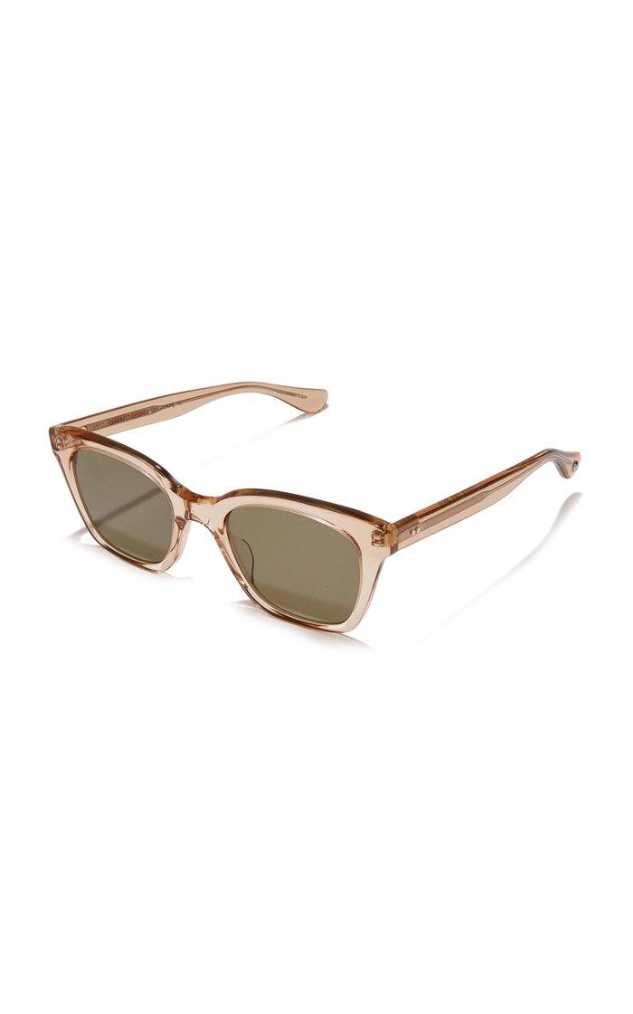 + Clare V. Nouvelle 48 Square-Frame Acetate Sunglasses
