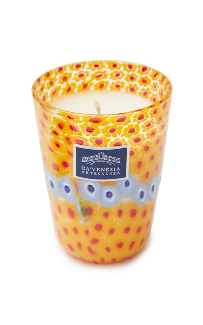 Murrine Glass Scented Candle