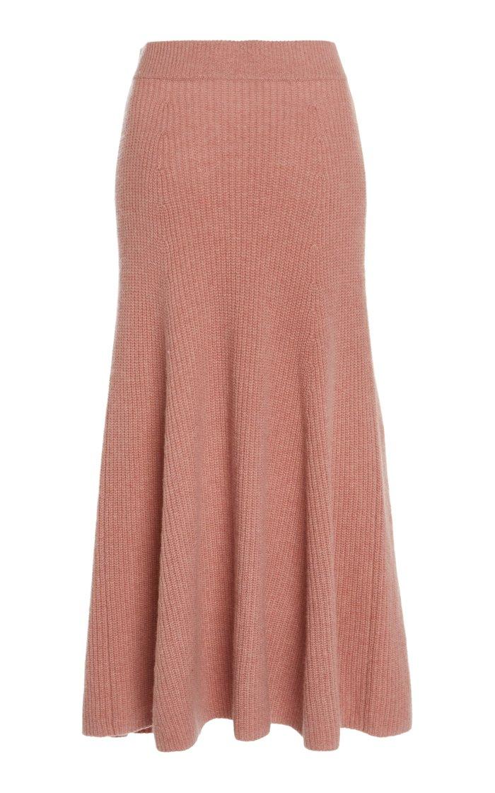 Darrell Cashmere Skirt