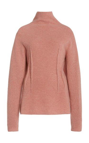 Loretta Cashmere Turtleneck Sweater