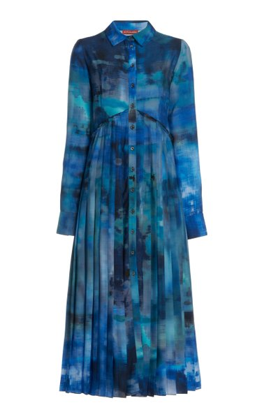 Vivian Printed Georgette Dress
