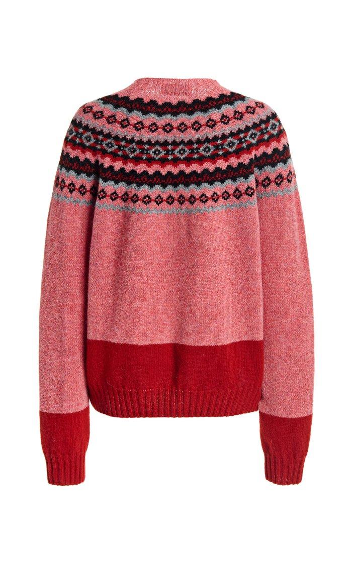 Benny Fair Isle Wool Sweater