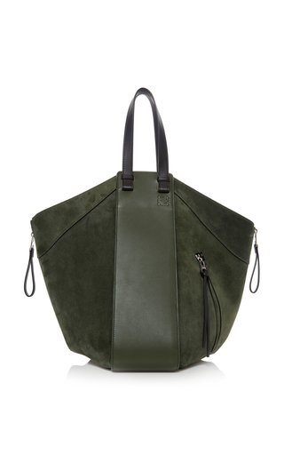 Hammock Large Suede and Leather Tote
