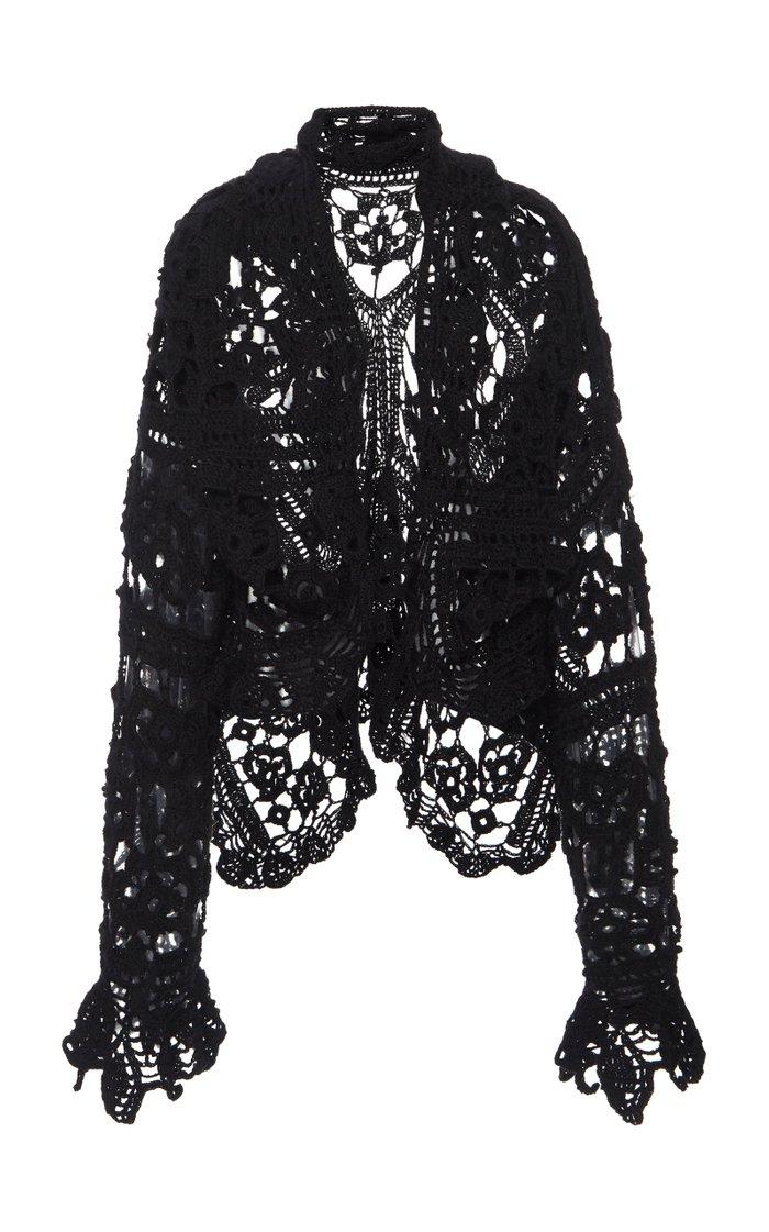 Open-Knit Cardigan