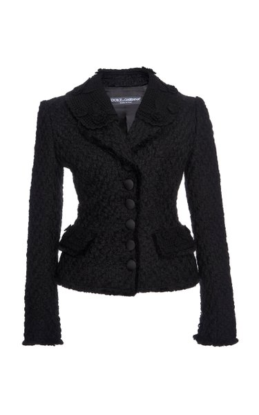 Tailored Single-Breasted Blazer