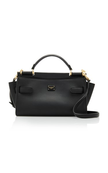 Sicily Small Soft Leather Top Handle Bag