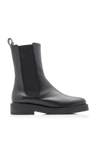 Palamino Leather Chelsea Boots