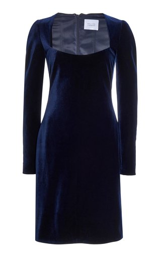 Nightfall Velvet Mini Dress