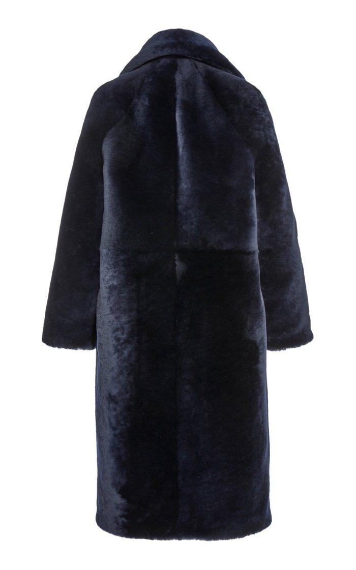 Teddy Bear Shearling Coat