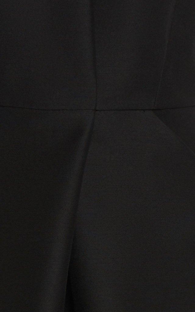 Wool-Silk A-Line Dress
