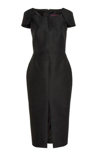 Structured Wool-Silk Dress