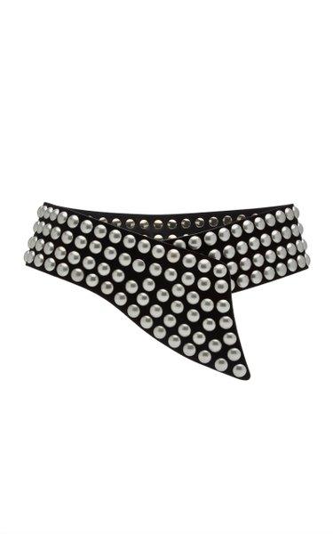 Milda Studded Leather Belt