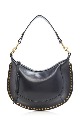Naoko Studded Leather Shoulder Bag