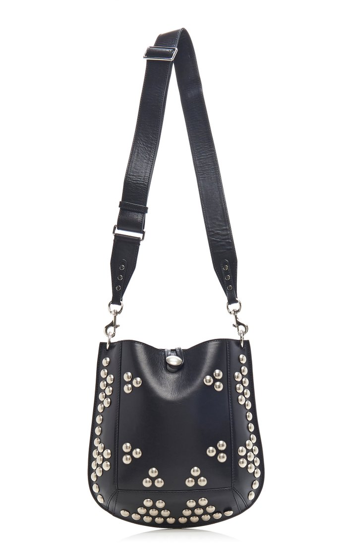Oskan Studded Leather Shoulder Bag