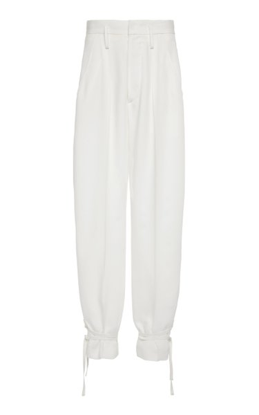 Racomi High-Rise Crepe Pants