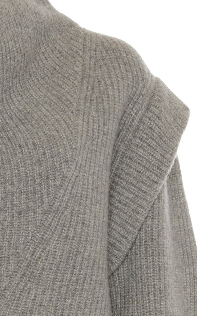 Poppy Cowl-Neck Wool-Cashmere Sweater