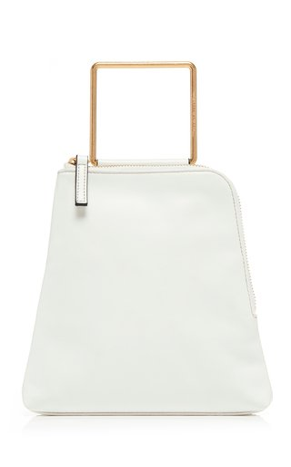 Breeze Leather Top Handle Bag