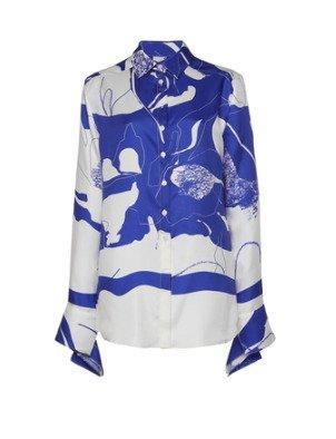 SpecialOrder-Button Up Twill Slim Shirt-AL