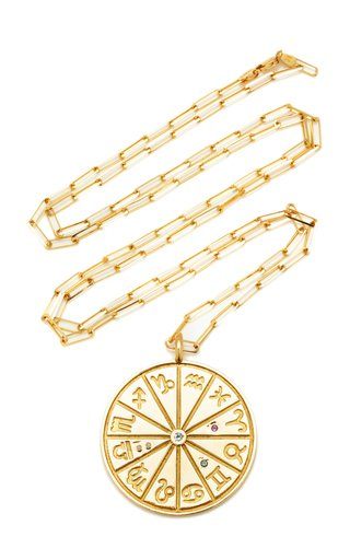 18K Yellow Gold Max Zodiac Necklace