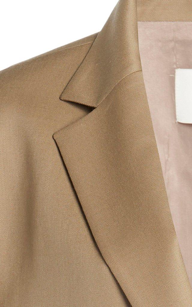 Boxy Wool Blazer
