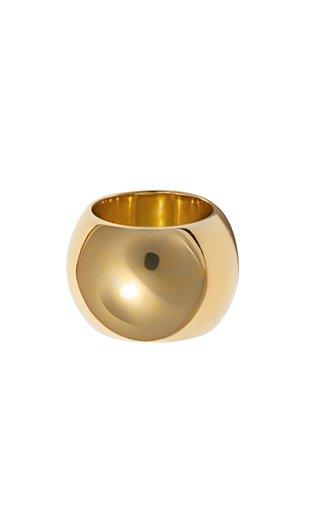 Semibreve Chunky Vermeil Ring
