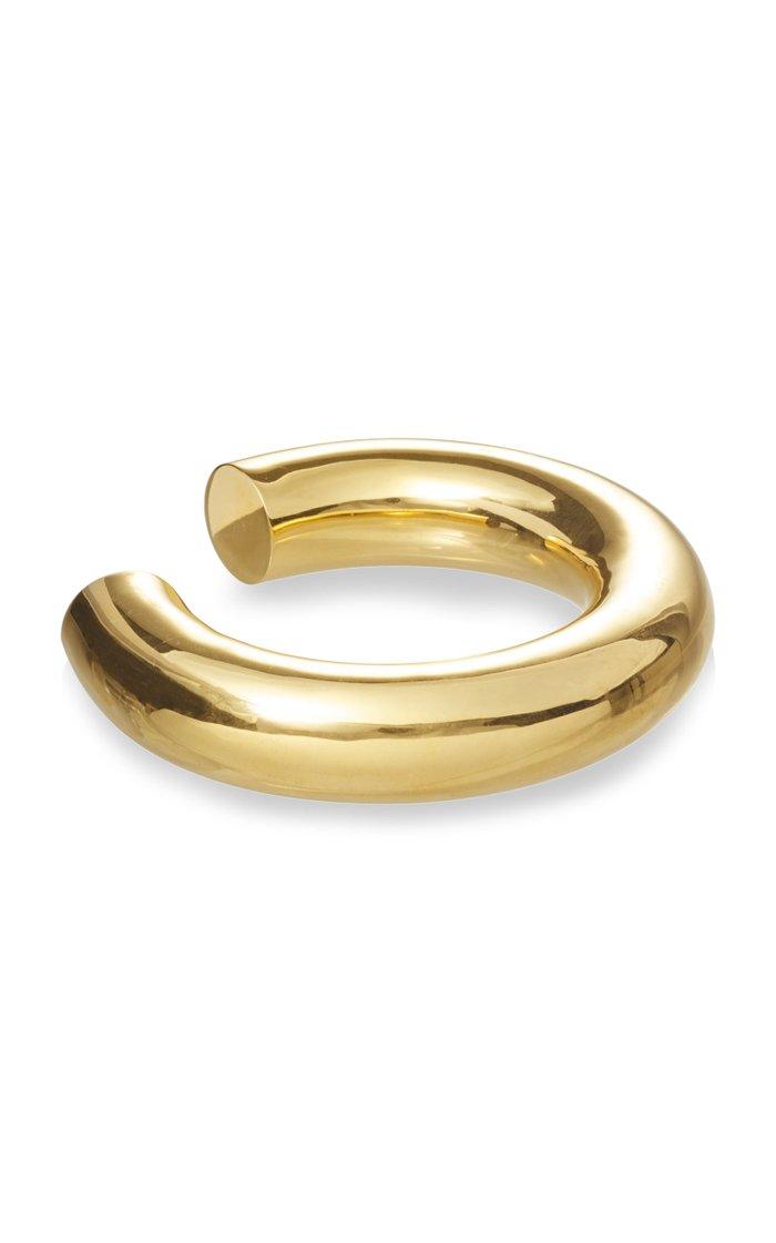 Swell Plated Brass Chunky Bangle