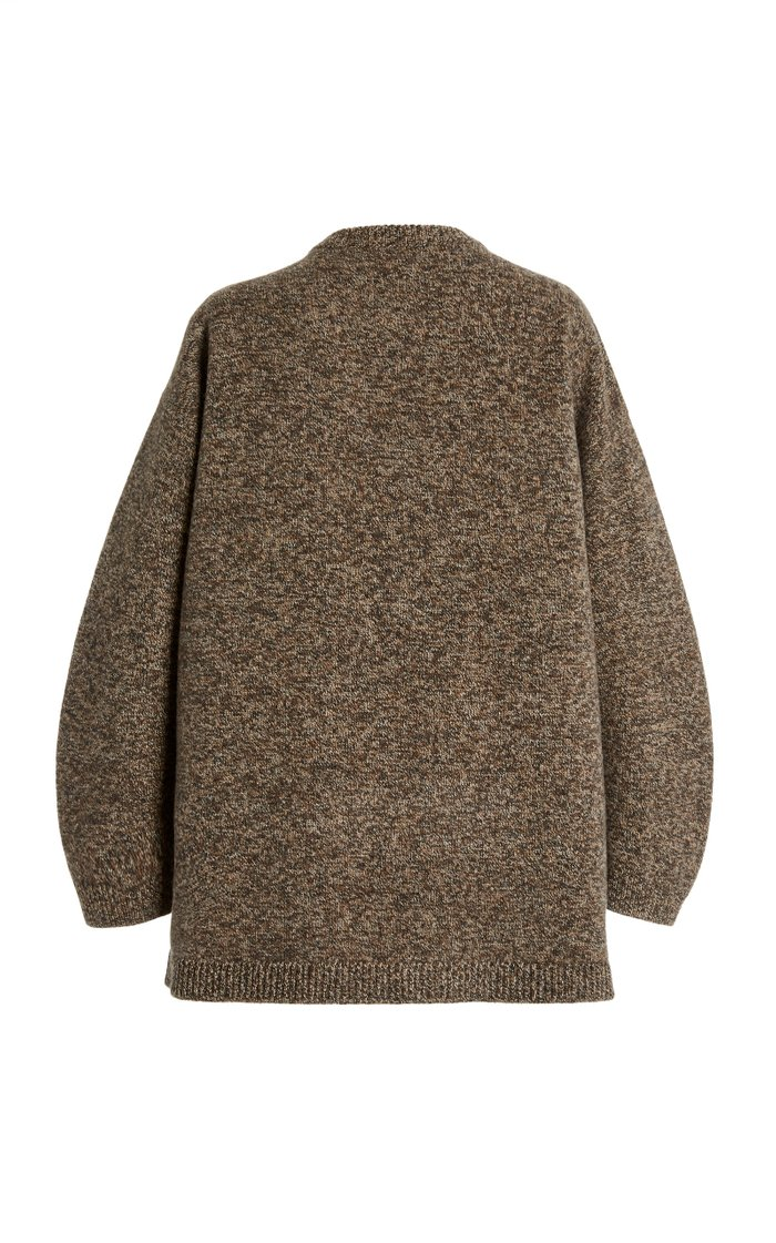 Tessa Oversized Mélange Wool Sweater