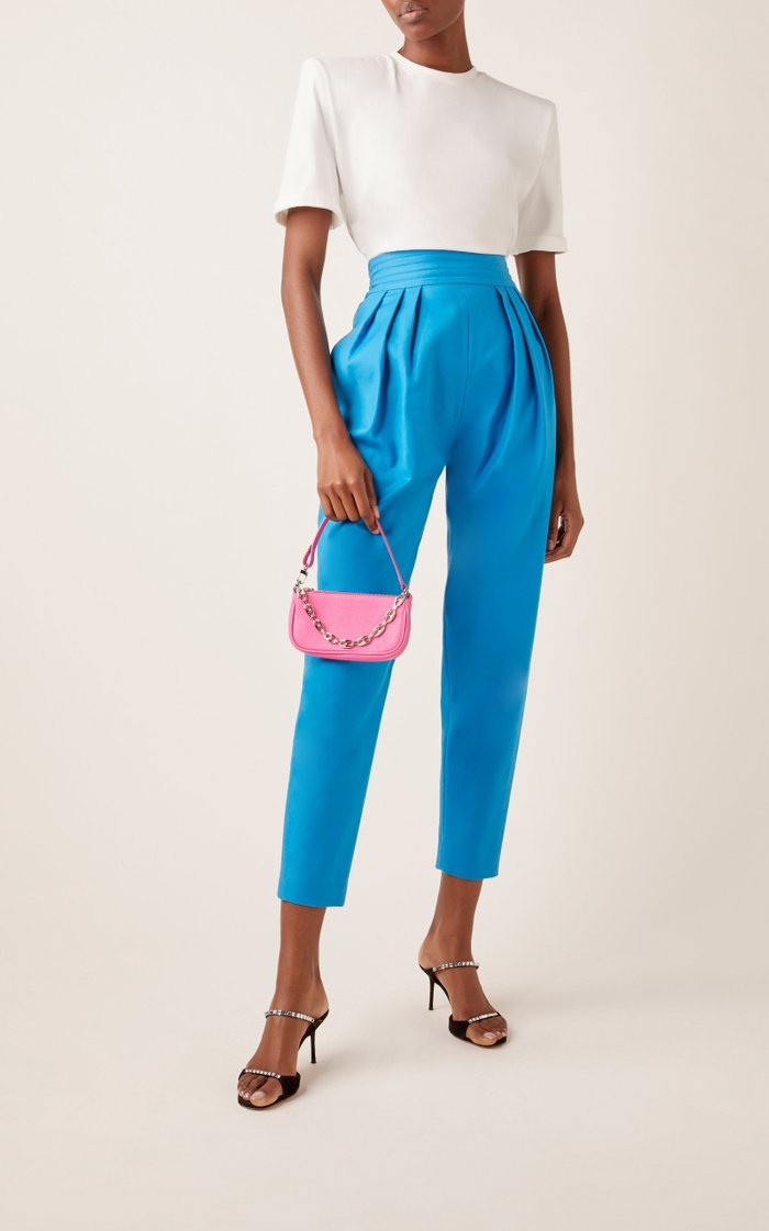Mini Rachel Leather Shoulder Bag