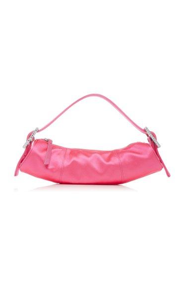 Kubi Silk Satin Handle Bag