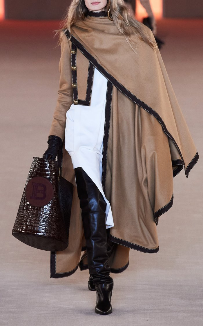 Grosgrain-Trimmed Wool-Cashmere Jacket