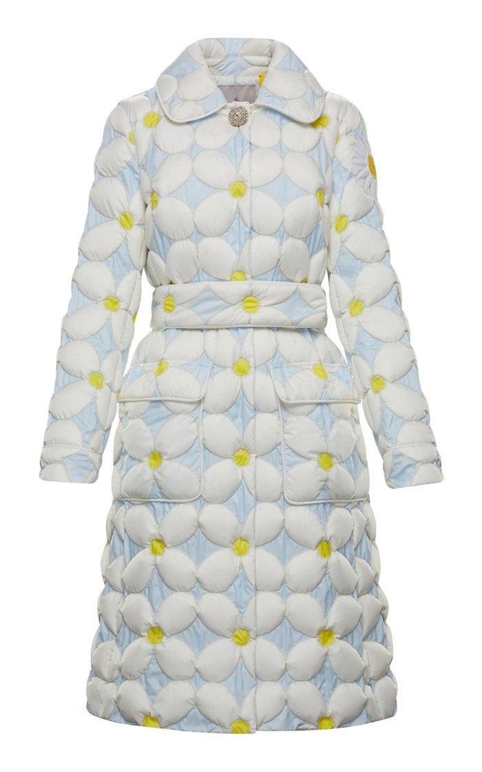 8 Moncler Richard Quinn Candice Daisy A-Line Down Jacket