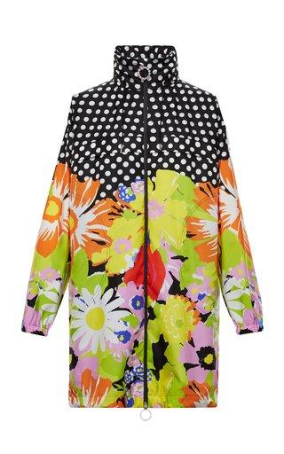 8 Moncler Richard Quinn Debra Printed Shell Jacket