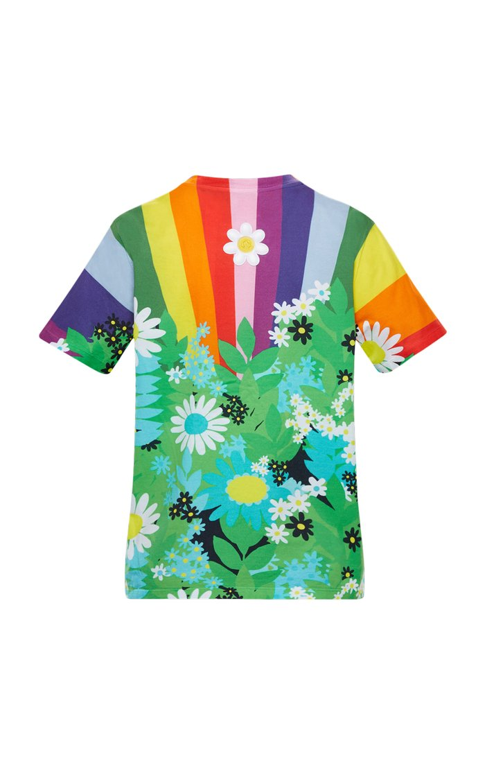8 Moncler Richard Quinn Printed Cotton T-Shirt