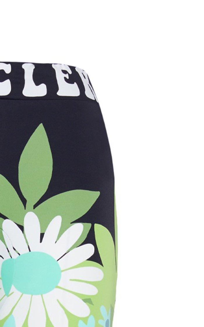 8 Moncler Richard Quinn Floral Stretch-Jersey Leggings
