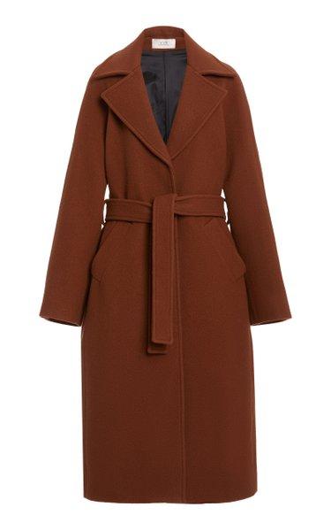 Oversized Teddy Wool Coat