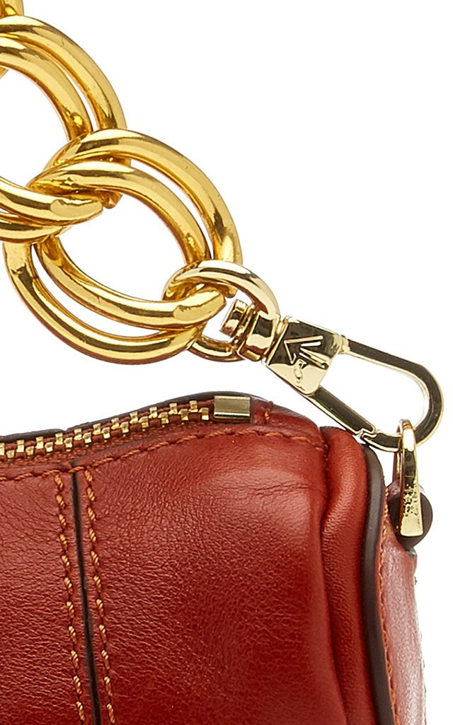Micro Cylinder Leather Shoulder Bag