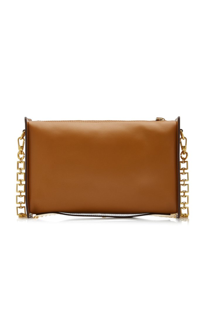 Carmen Paneled Leather Shoulder Bag