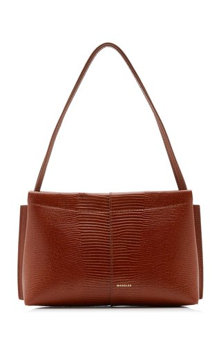 Carly Lizard-Effect Mini Bag