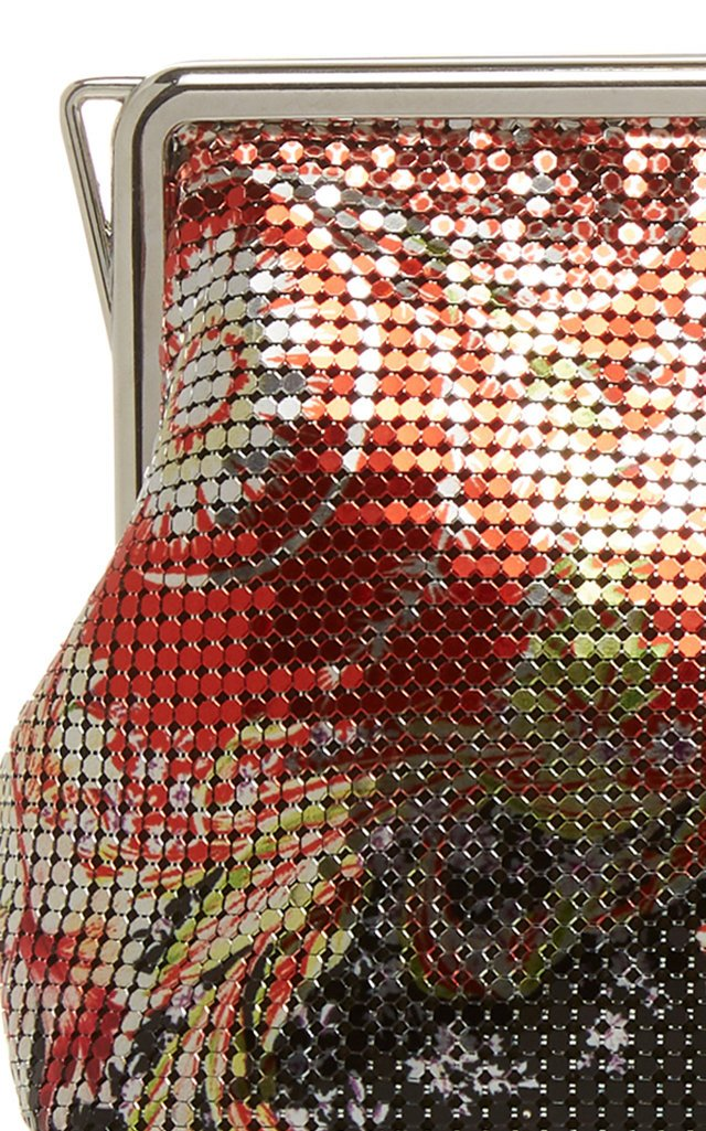 Pixel II Printed Chainmail Clutch